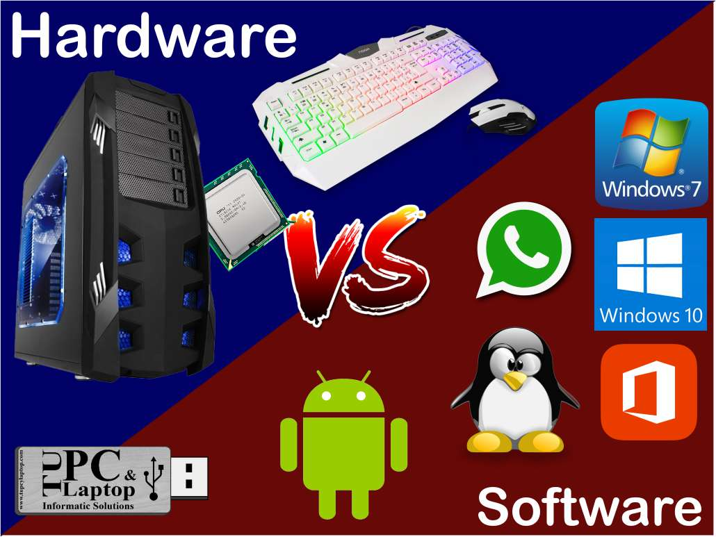 diferencia entre hardware y software